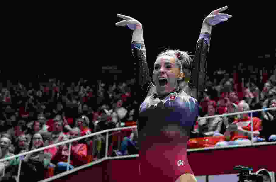 In her quest to make the U.S. Olympic team, Ute gymnast MyKayla Skinner to compete Saturday at U.S. Classic