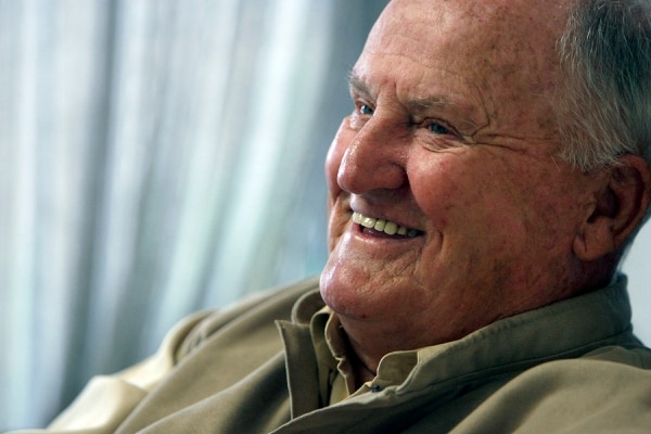 (Francisco Kjolseth | Tribune file photo) Legendary BYU football coach LaVell Edwards is pictured in this 2010 photo.
