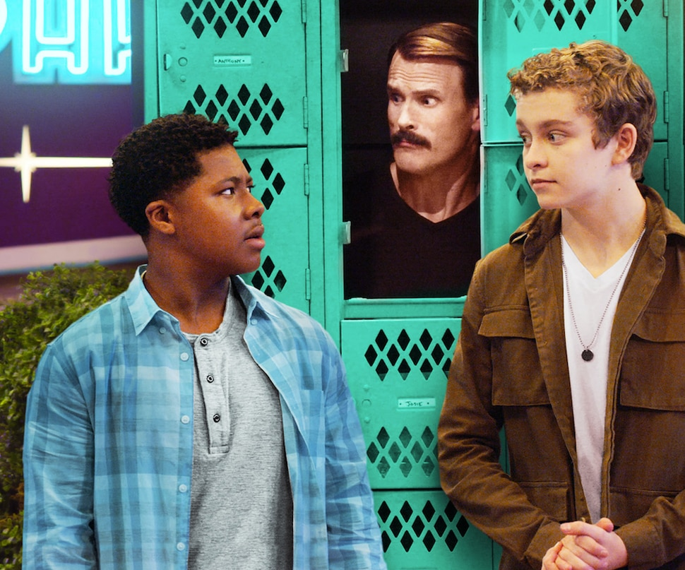 "(Photo courtesy Netflix) Theodore Barnes, Gabriel Hogan and Gavin Lewis star in ""The Prince of Peoria."""