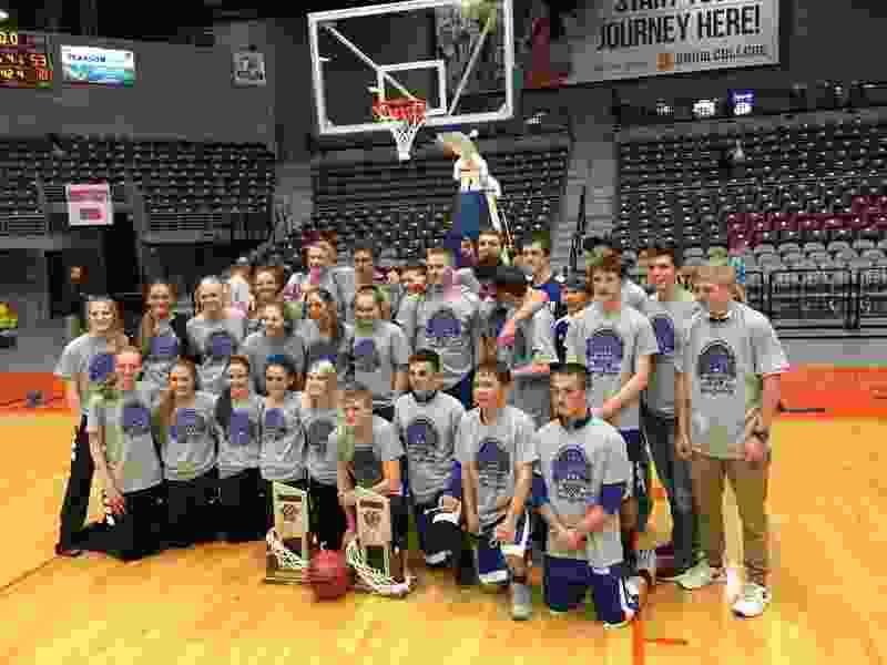 'The whole town one way or the other is with those kids': Panguitch lets loose after claiming pair of state basketball titles
