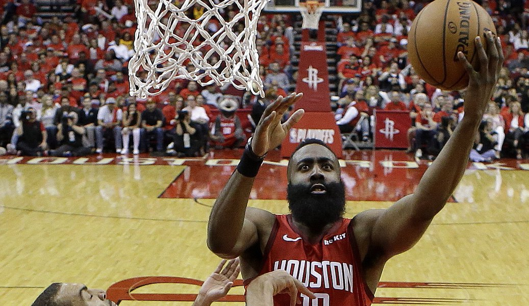 23ca16d80a12 Can the Jazz tighten up their defense on James Harden and the Rockets in  time for Game 2