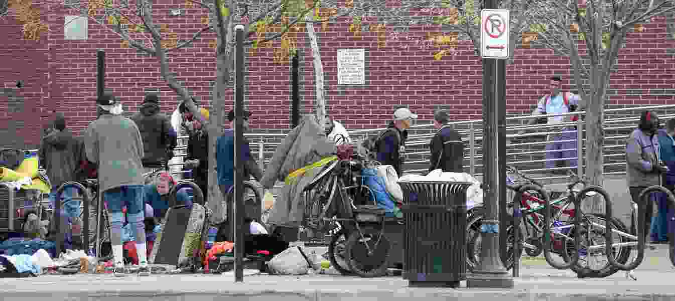 Homeless shelter stays are up — slightly — just not as high as the state said last week