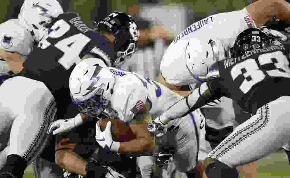 Air Force hands Utah State its first conference loss of the season, 31-7