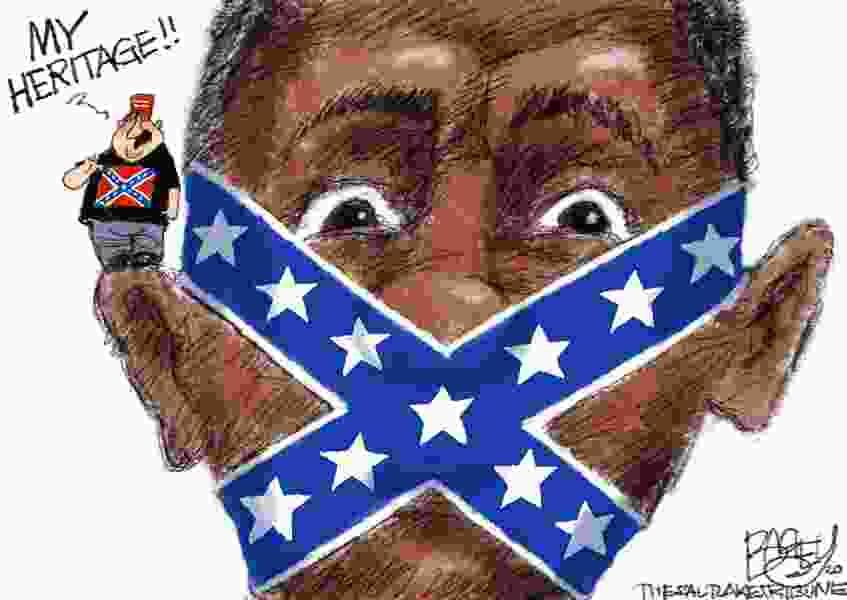 Bagley Cartoon: Confederate Pride