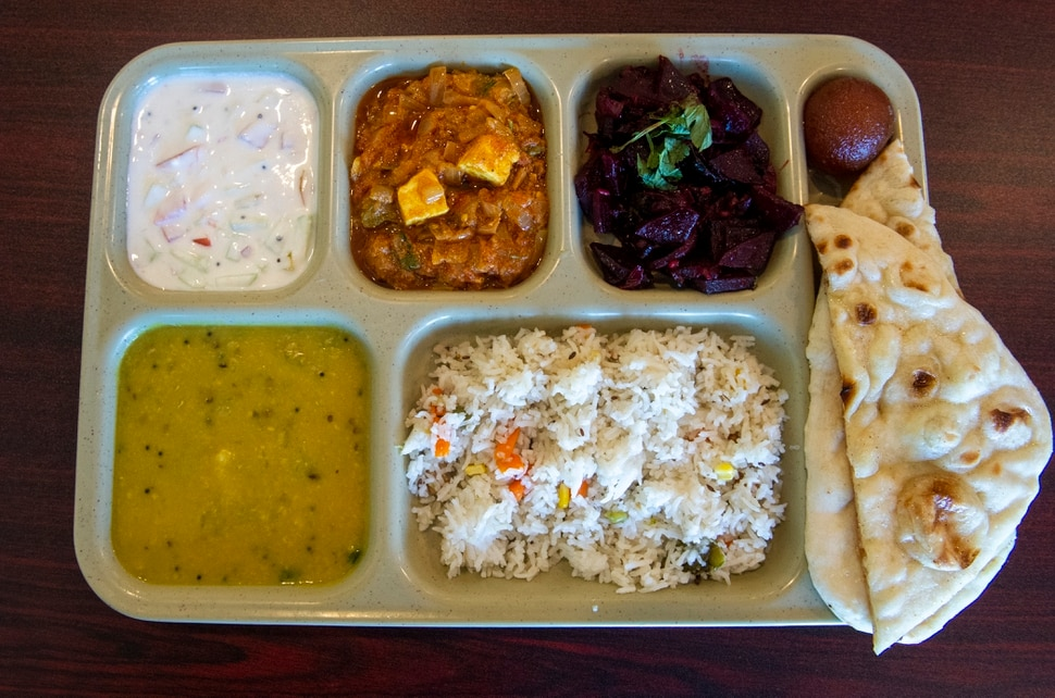 (Rick Egan | The Salt Lake Tribune) TH eMini Lunch at Sri Balaji Caffe, a new vegetarian restaurant that specializes in Indian Street Food in West Jordan. Thursday, Jan. 3, 2019.