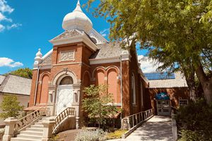 (Photo courtesy of Joshua Black/Salt Lake Acting Company) The old 19th Ward meetinghouse, which is home to Salt Lake Acting Company, is undergoing renovations.