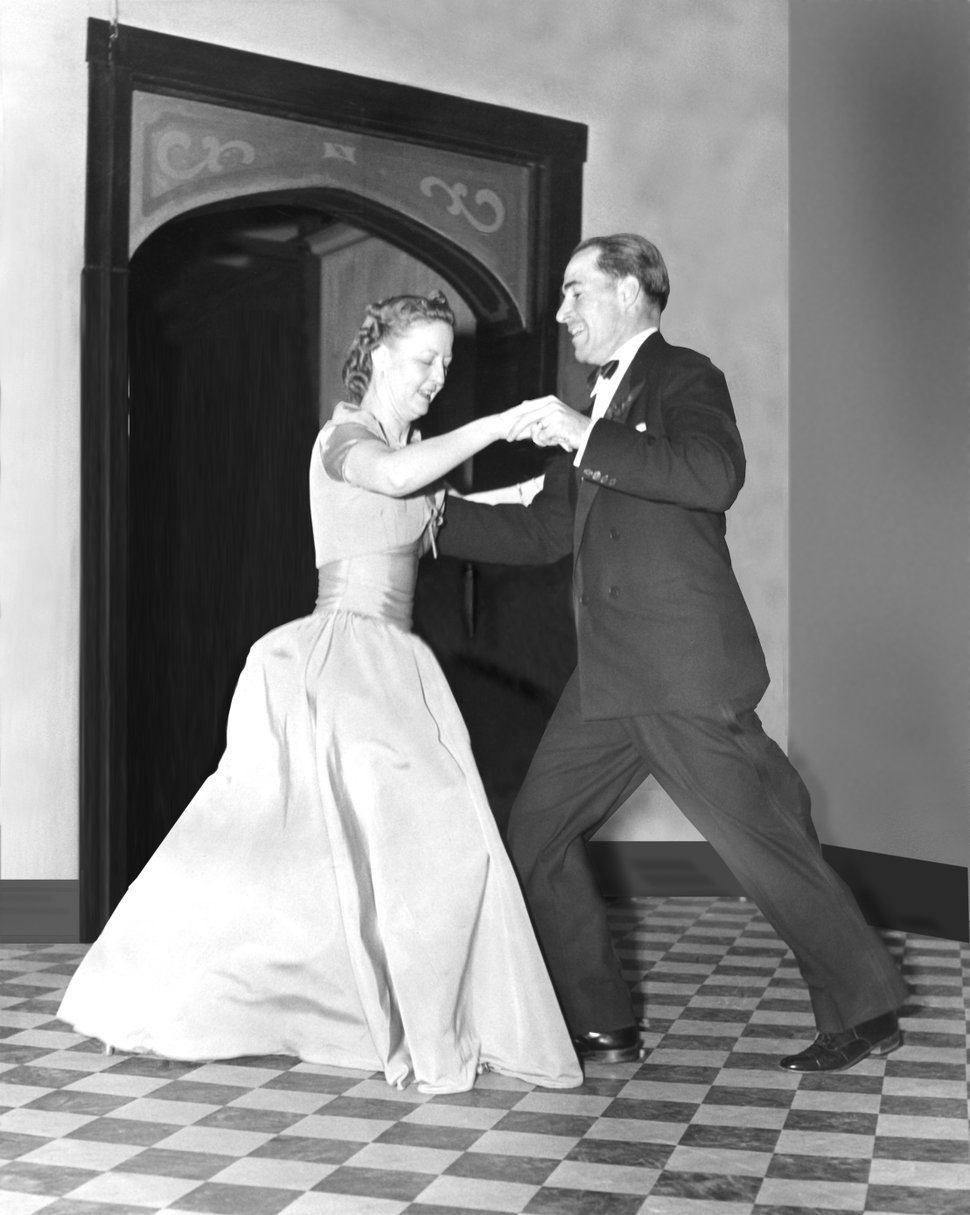(Courtesy photo) George S. and Dolores Dore Eccles dance at a community event in the Ben Lomond Hotel Ballroom in Ogden in the 1930s.