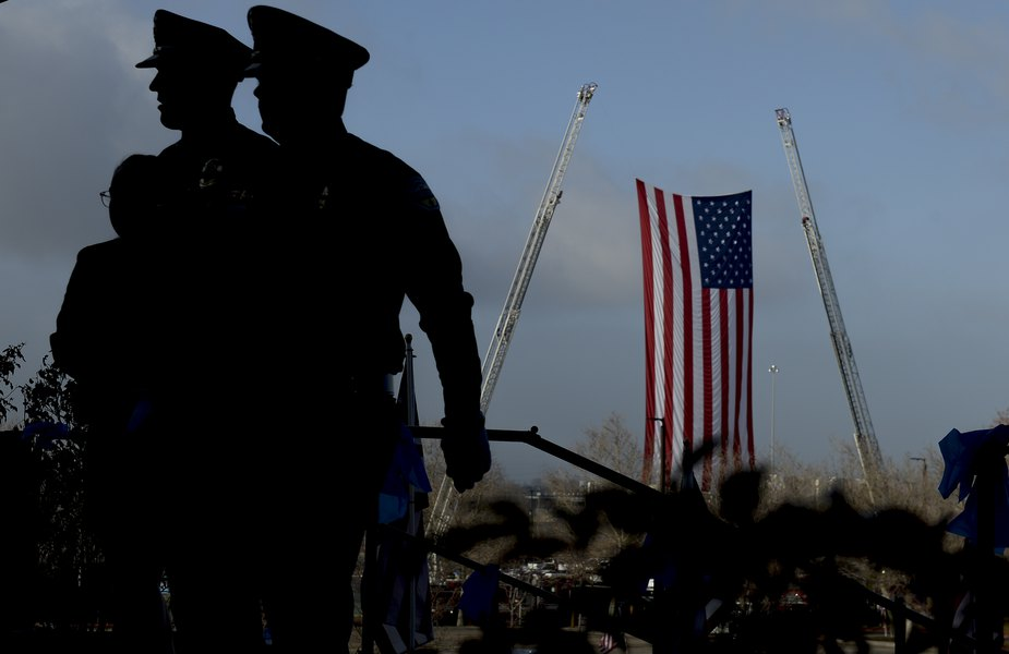 """23895608e45 """"He selflessly sacrificed his life to protect the lives of his fellow  officers"""