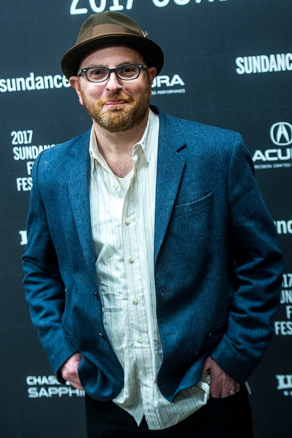 Chris Detrick | The Salt Lake Tribune Screenwriter Stuart Ross Fink poses for photographs before the premiere of 'The Last Word' at the Eccles Theater during the 2017 Sundance Film Festival in Park City Tuesday January 24, 2017.