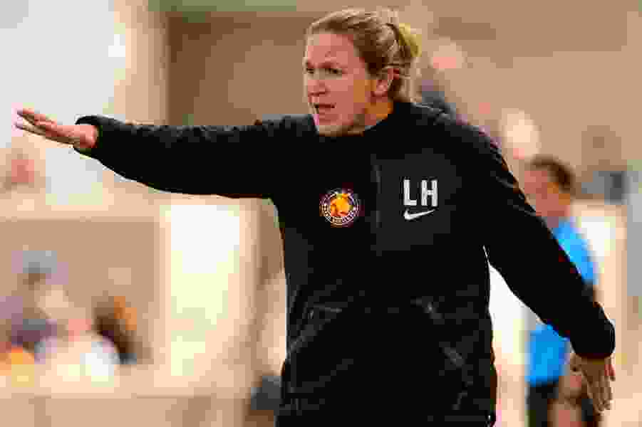 Royals' third loss in a row leaves coach Laura Harvey lashing out at the referees
