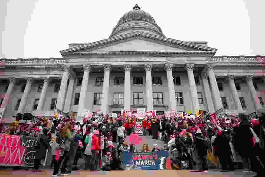 More than half of Utah women think they have a lower status than men in the state