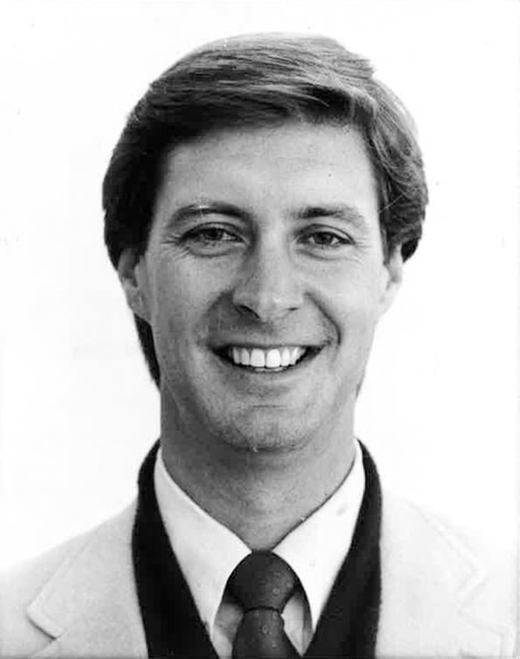 (Tribune File Photo) University of Utah Athletic Director Dr. Chris Hill, October 24, 1987.