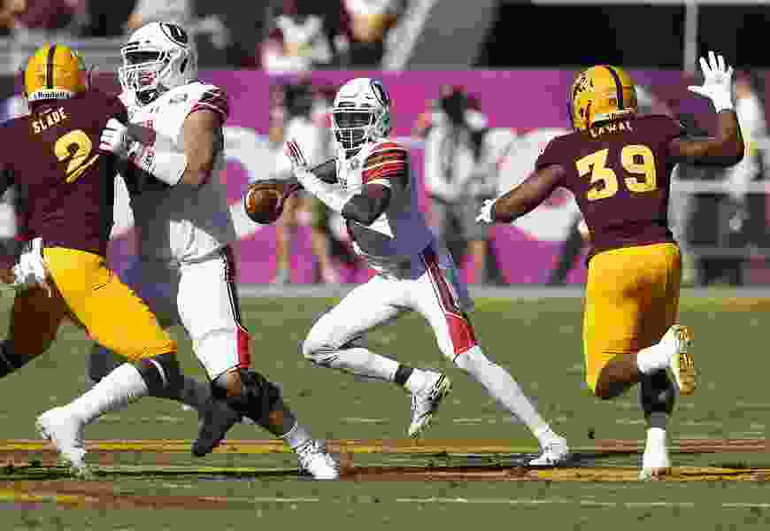 Utes lose their grip on Pac-12 South as QB Huntley is injured in 38-20 loss to Arizona State