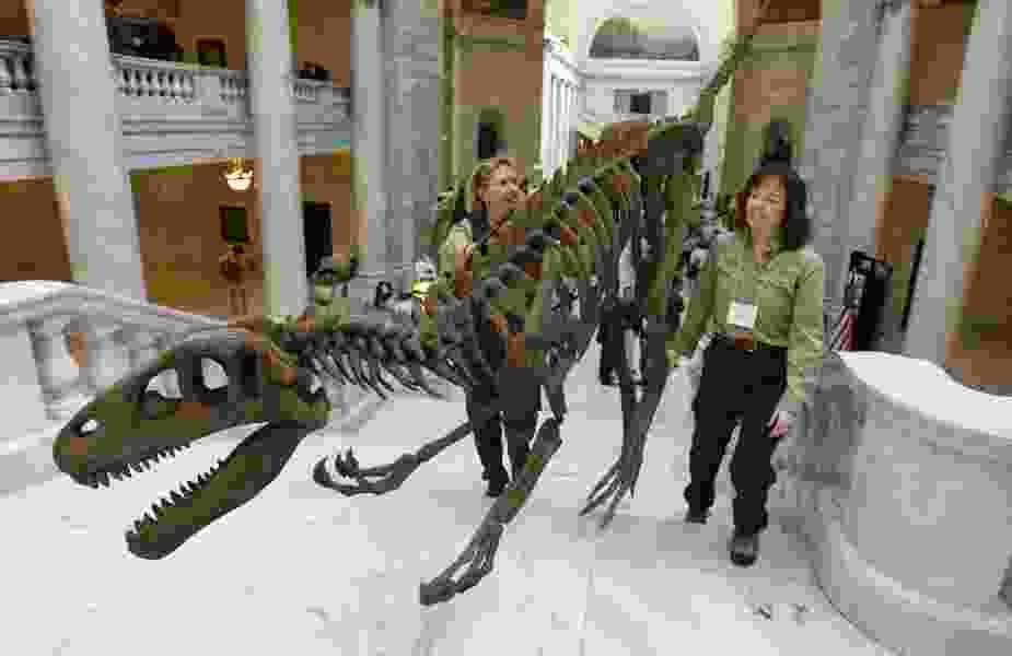 Utahraptor State Park bill stalls in Senate committee