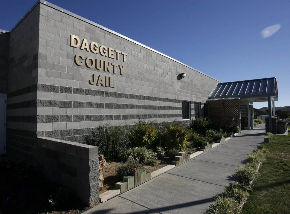 (Rick Egan | Tribune file photo) Daggett County jail near Manila, in Daggett County, on Sept. 25, 2007.