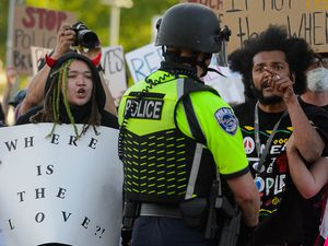(Trent Nelson | Tribune file photo) Protesters march against police violence in Salt Lake City on Tuesday, June 2, 2020. Lawmakers in more than 20 states including Utah have considered bills this year to make the disciplinary records of police officers public or to share them with other agencies.
