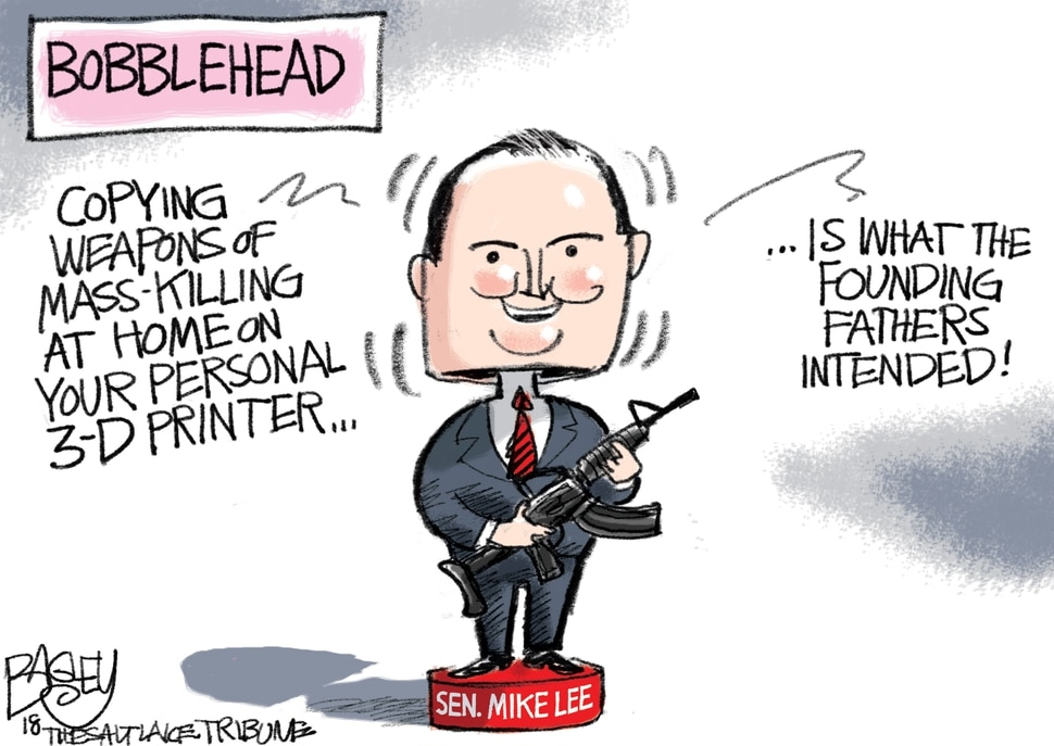 This Pat Bagley cartoon appears in The Salt Lake Tribune on Thursday, Aug. 2, 2018.