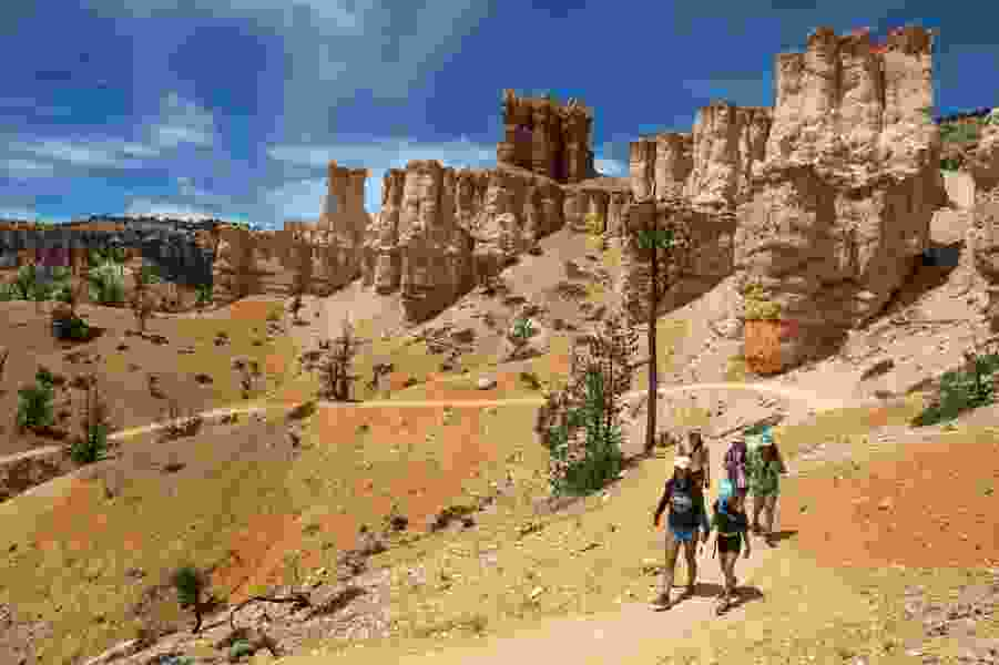 'This is fantastic' — Utah's Bryce Canyon is back in business, with clear skies and clear, but limited, trails