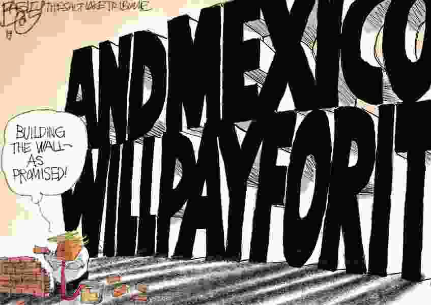 Bagley Cartoon: Throwing Serious Shade