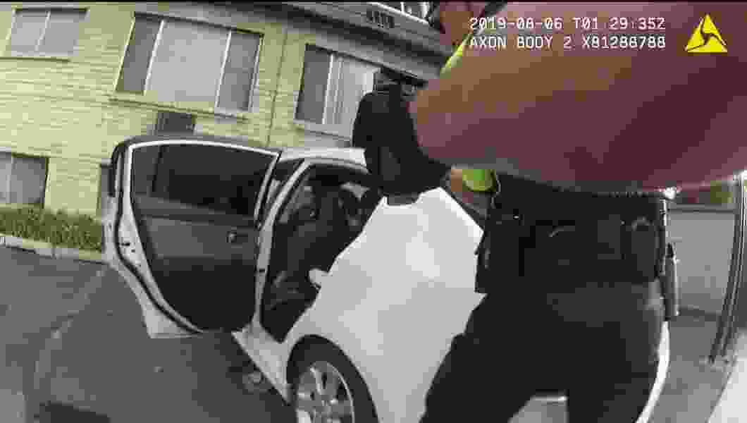 Bodycam shows a man pointing a gun at Salt Lake City police before they shoot him
