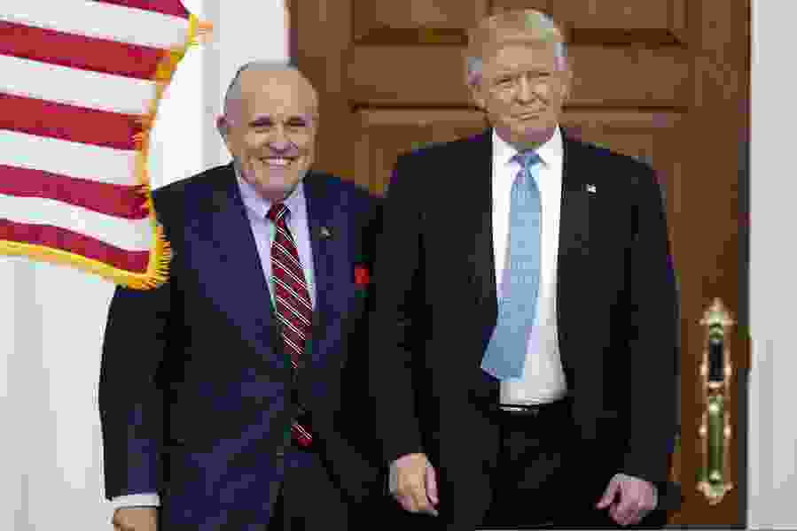 Philip Bump: Giuliani says there's nothing wrong with getting dirt from Russians. The law says there can be.