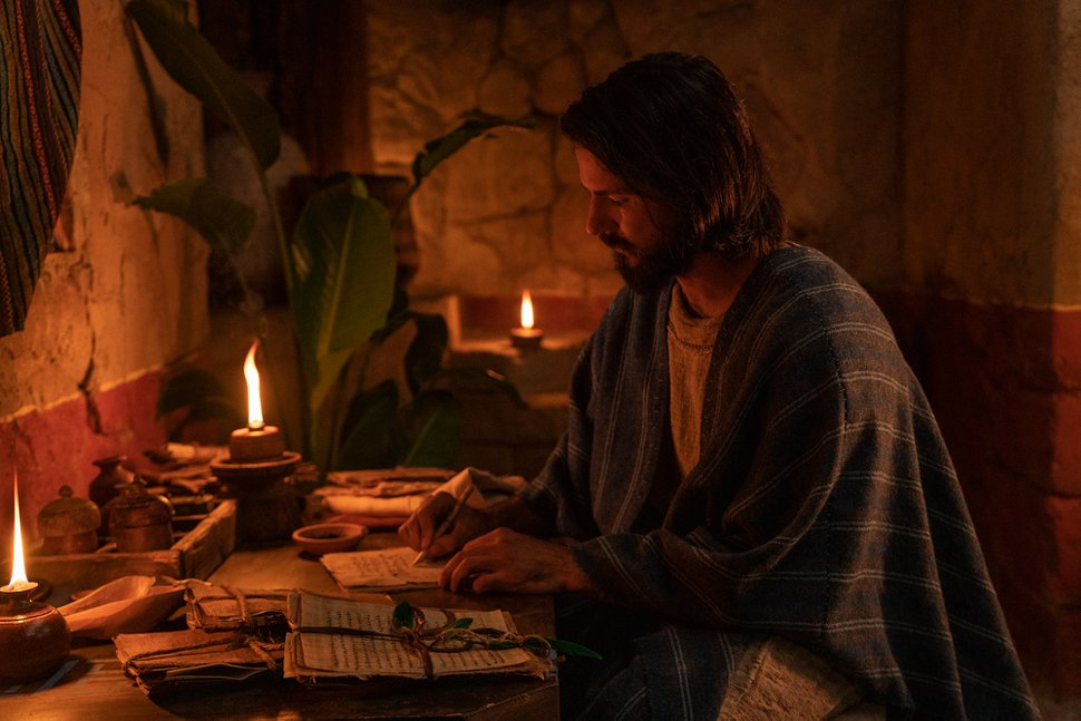 (Photo courtesy of The Church of Jesus Christ of Latter-day Saints) A look at season three of Book of Mormon Videos. Here, Alma the Younger records his testimony.