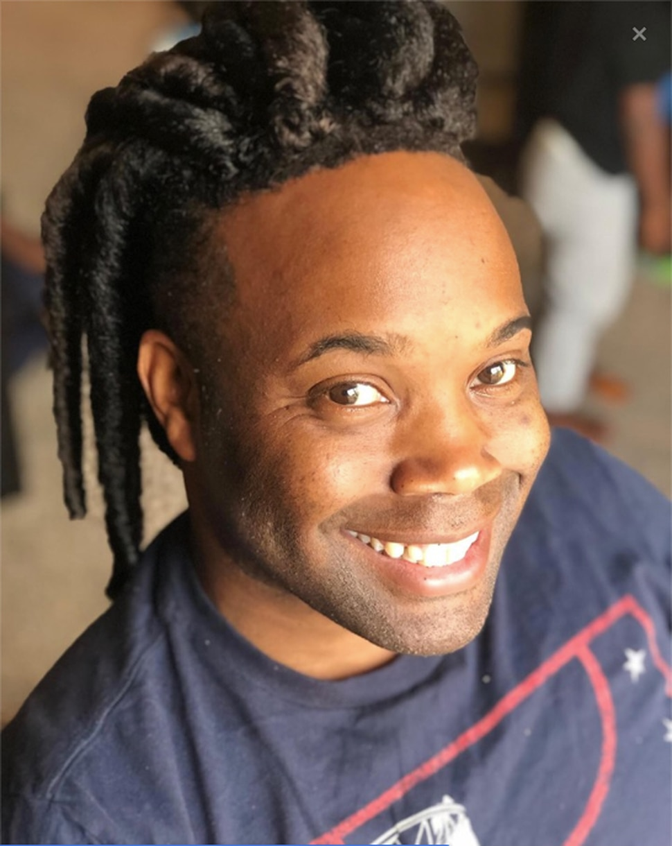 (Photo courtesy of Tekulve Jackson-Vann) Tekulve Jackson-Vann sports the dreadlocks that got him briefly barred from working at the Payson Temple of The Church of Jesus Christ of Latter-day Saints.