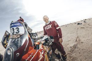 (Photo courtesy of Nathan Rafferty) Ski Utah president and CEO Nathan Rafferty became the first American to complete the 12-day endurance Africa Eco Race earlier this year.