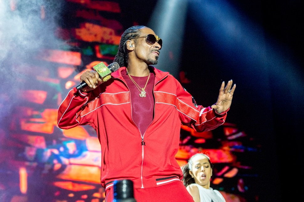 (Photo by Amy Harris/Invision/AP) Snoop Dogg performs at the Bottle Rock Napa Valley Music Festival at Napa Valley Expo on May 26, 2018, in Napa, Calif.