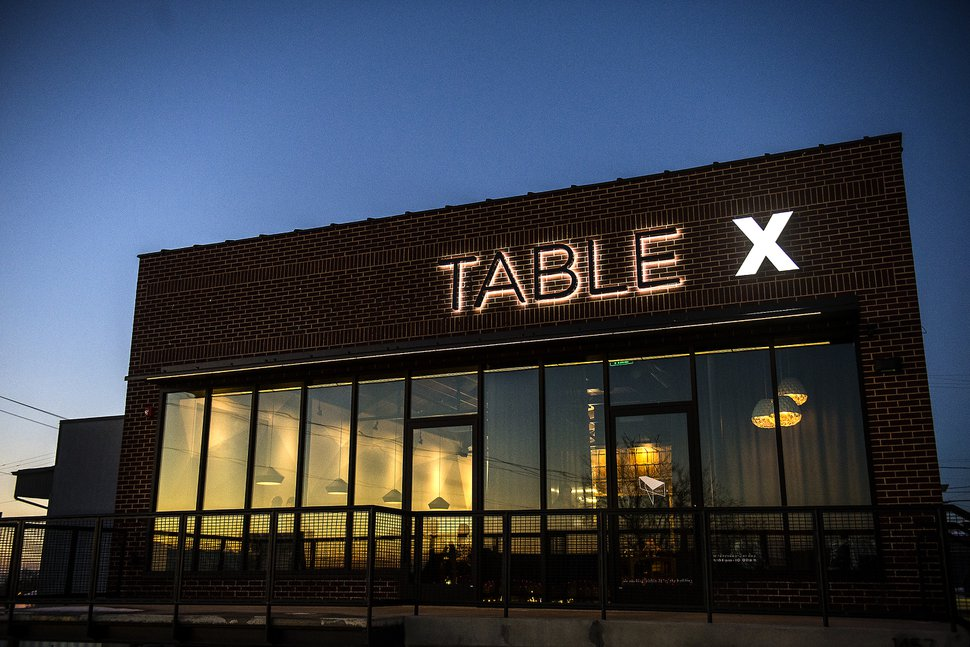 (Chris Detrick | The Salt Lake Tribune) Table X.