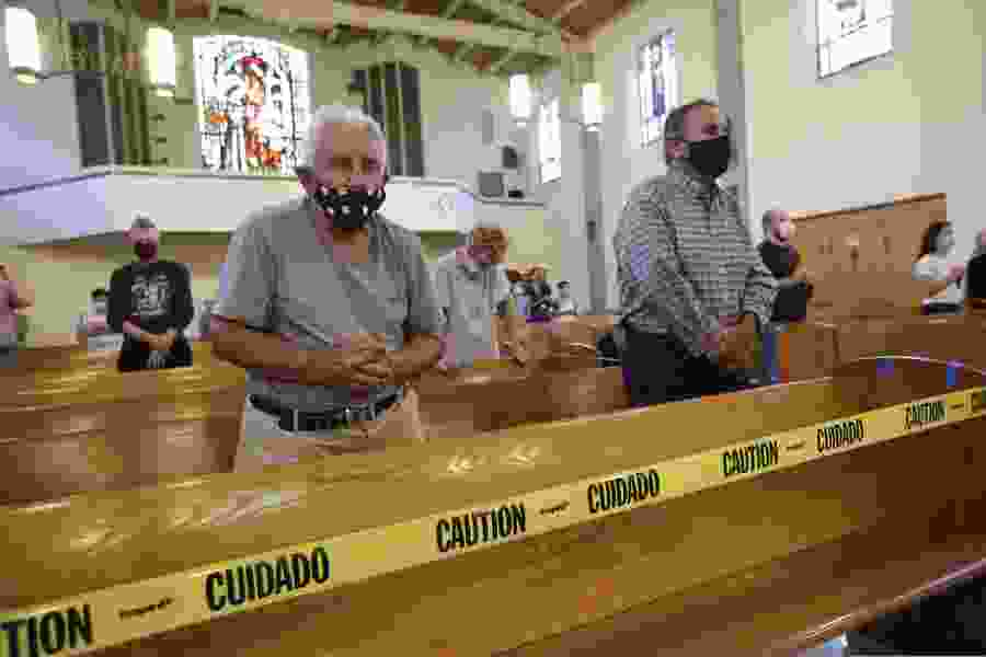 Churches amid the pandemic: Some outbreaks, many challenges