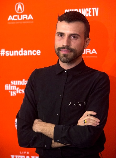 (Rick Egan | The Salt Lake Tribune) Tyler Glenn, on the red carpet for the premiere of Believer, a documentary about Imagine Dragons frontman Dan Reynolds trying to reconcile his Mormon beliefs with his support for LGBTQ community in Park City at the Sundance Film Festival, Saturday, January 20, 2018.