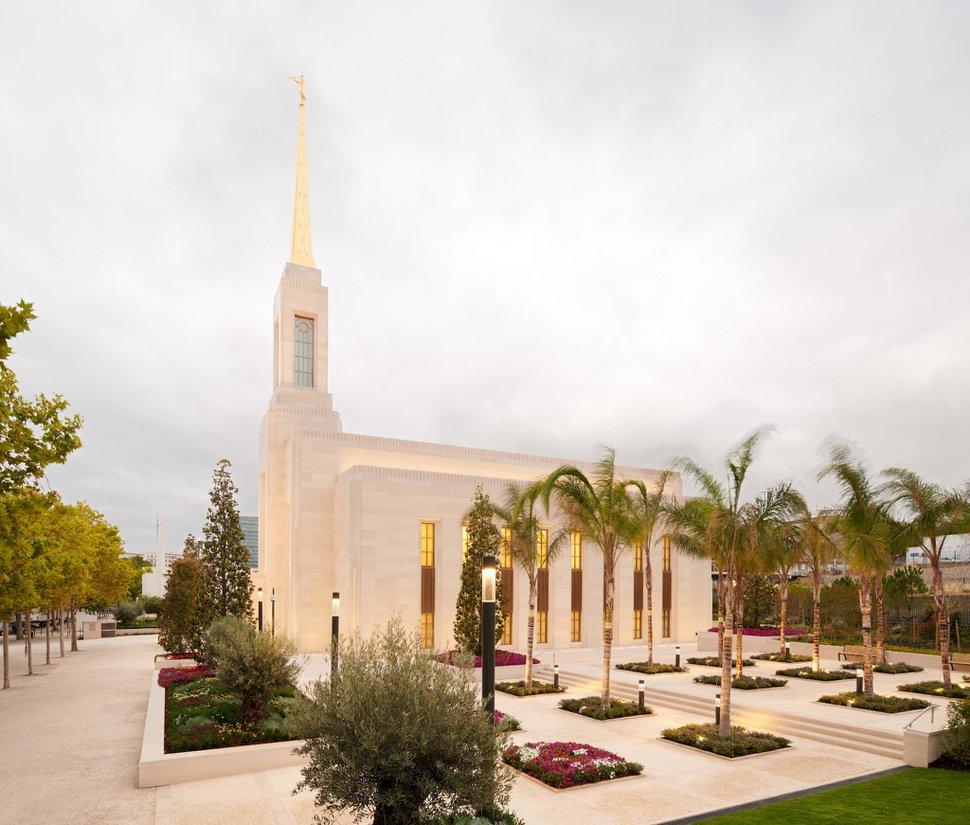 (Photo courtesy of The Church of Jesus Christ of Latter-day Saints) The Lisbon Portugal Temple.