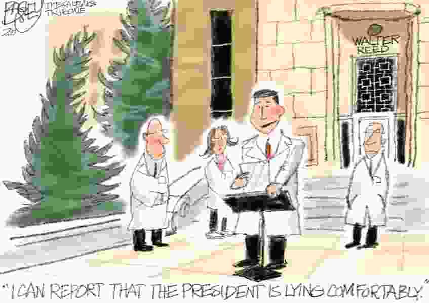 Bagley Cartoon: White House Updates