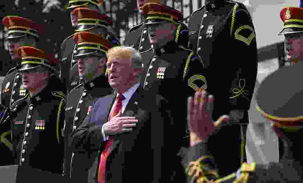 Letter: Trump doesn't care about patriotism