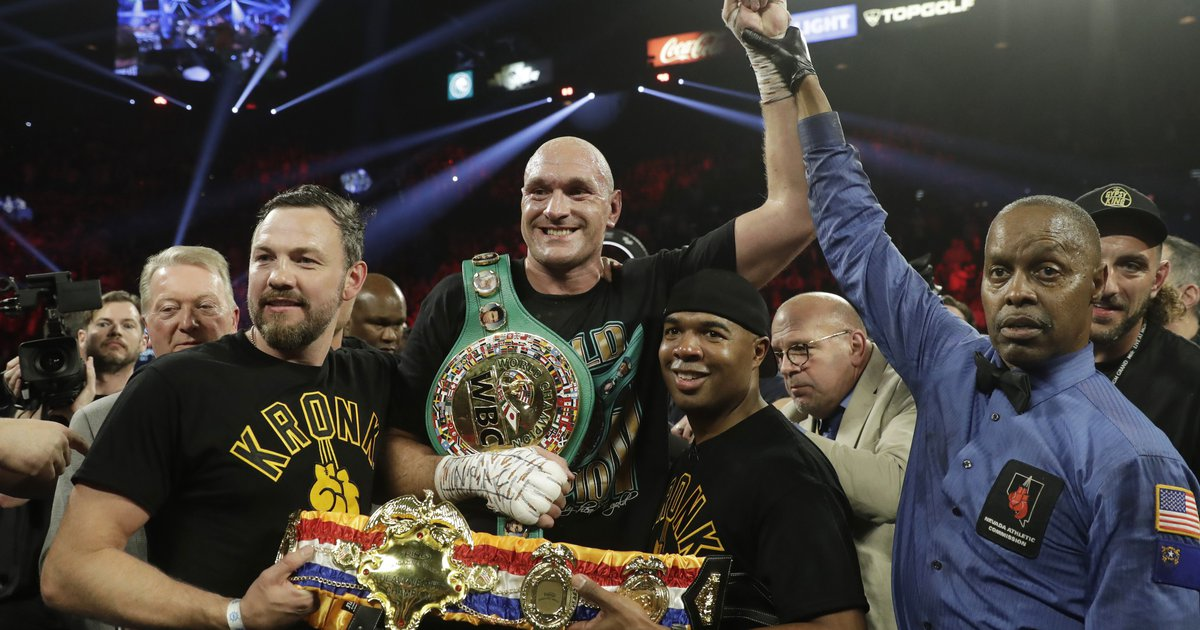 Fury wins in stunning stoppage of Wilder in...