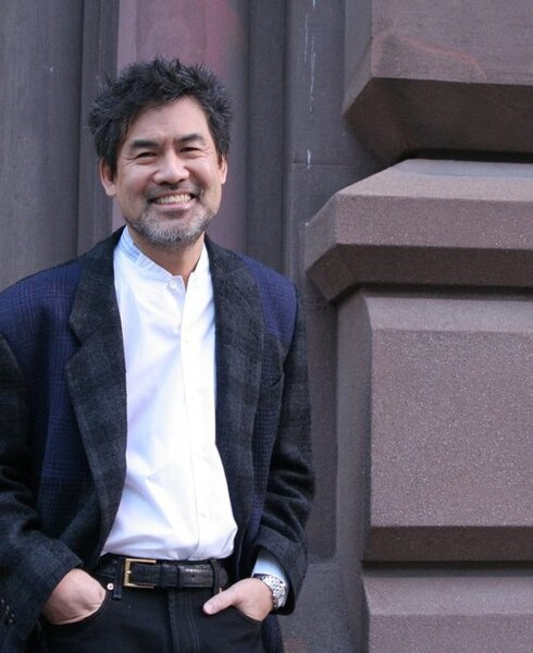 "(Photo courtesy Lia Chang/Salt Lake Acting Company) David Henry Hwang is the author of ""The Dance and the Railroad."""