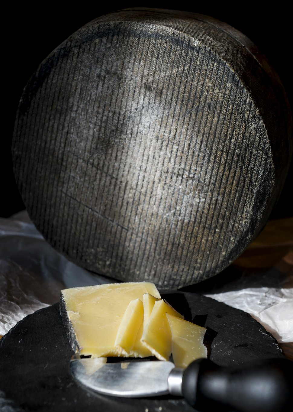 (Leah Hogsten | The Salt Lake Tribune) Cornish Kern, a cheese from the United Kingdom that recently won best cheese in the world, is available at Harmons Grocery stores.