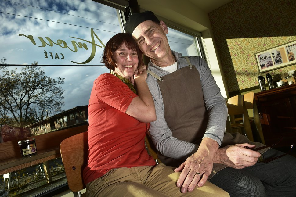 (Scott Sommerdorf | The Salt Lake Tribune) The Amour Cafe is a finalist in the national
