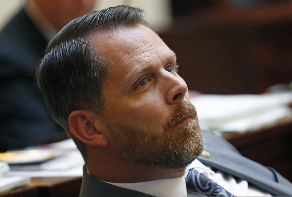 (Rick Bowmer | AP file photo) Republican Sen. Jake Anderegg.