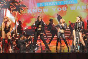 "(Kim Simms/ABC) Eve, Brandy, Naturi Naughton and Nadine Velazquez star in ""Queens."""