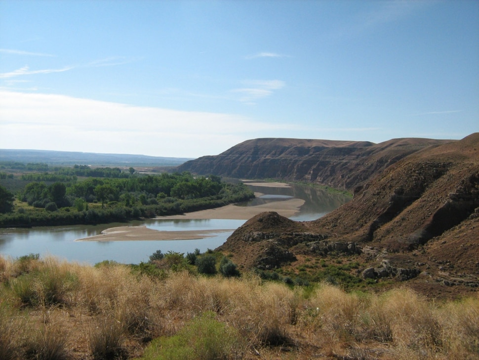 (Photo courtesy of Ouray National Wildlife Refuge) In this 2008 photograph, Johnson Water Gap, a section of the Ouray National Wildlife Refuge in Uintah County.