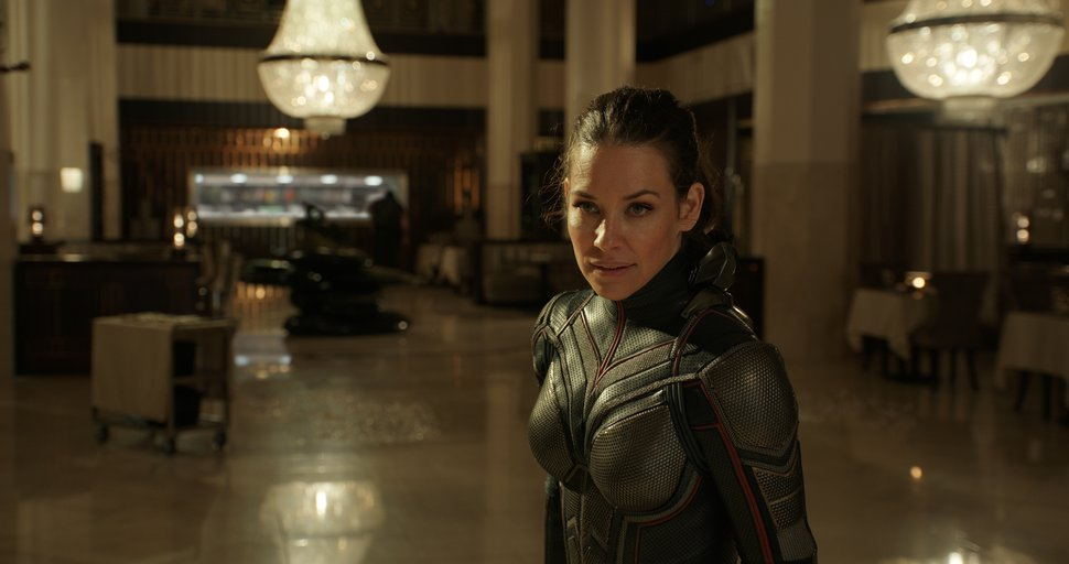 (courtesy Marvel Studios) Evangeline Lilly stars as Hope van Dyne, known by her alter ego The Wasp, in Marvel Studios'