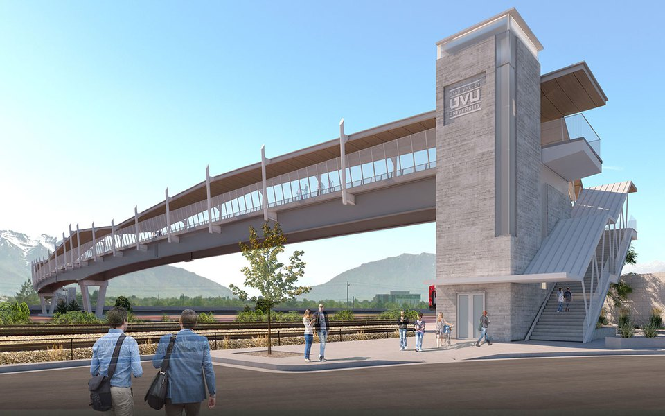Extra-long (and costly) pedestrian bridge will span I-15 ...
