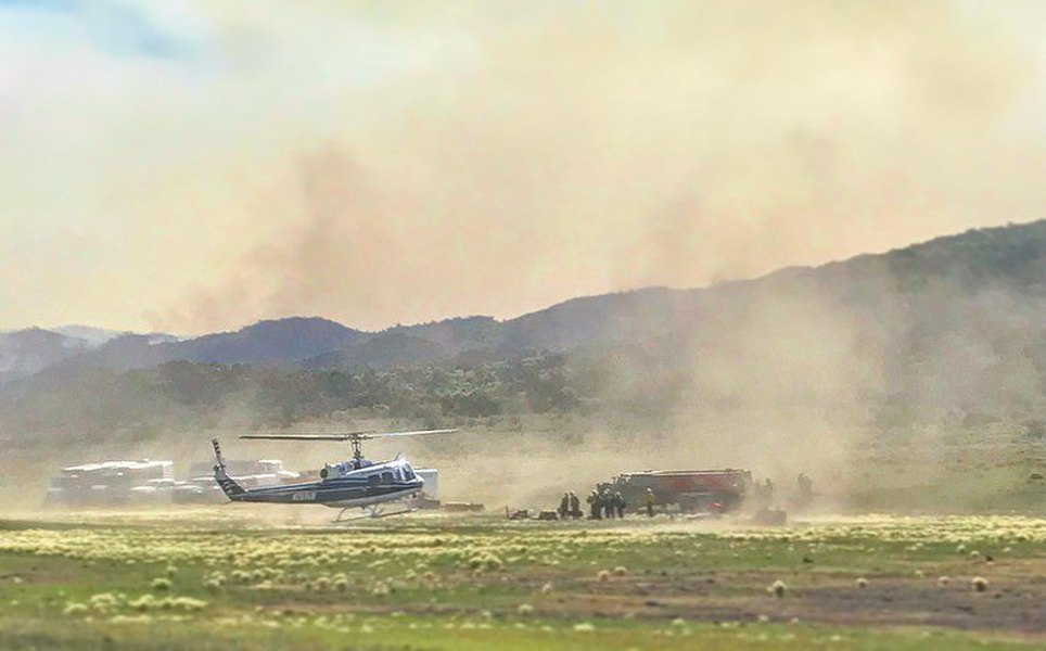 Firefighters gain on blazes burning across Utah, but July ...