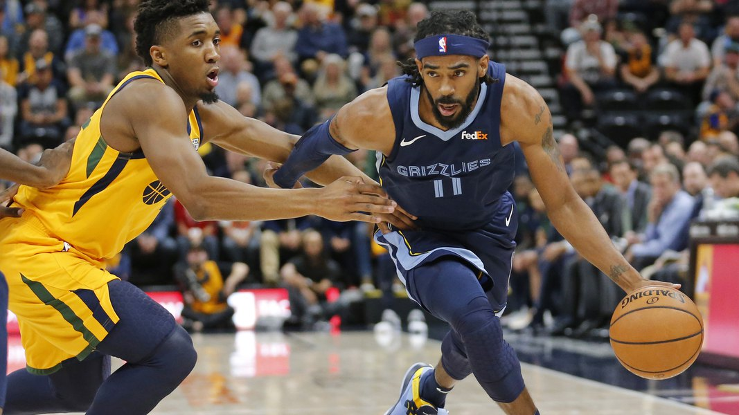 b351bd1f Mike Conley will join the Utah Jazz. Jae Crowder, Grayson Allen, Kyle  Korver go to Memphis as part of trade.