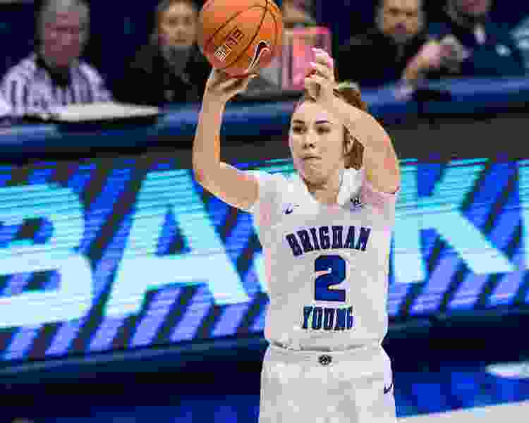 State colleges: BYU ends No. 13 Gonzaga's 12-game winning streak in women's basketball