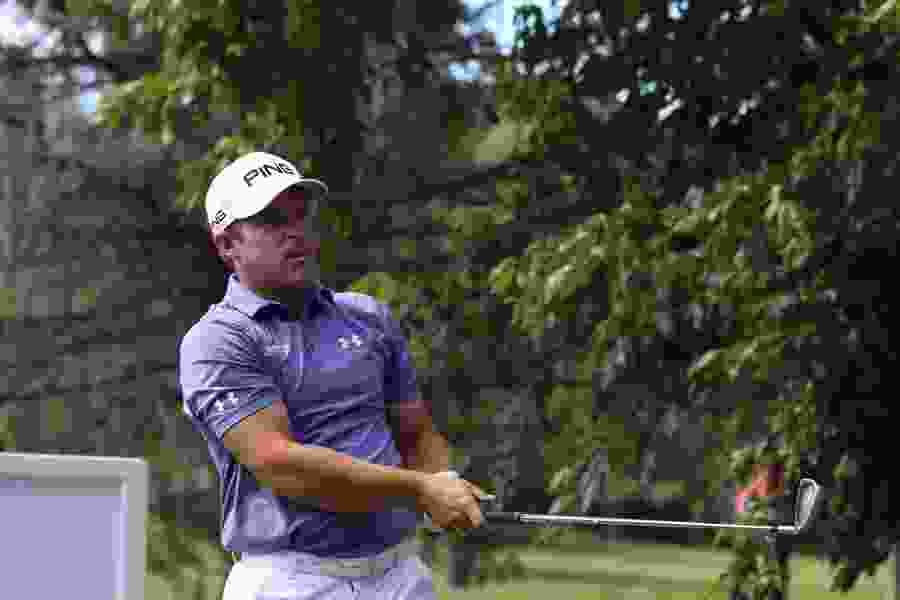 Daniel Summerhays two shots off the lead after opening with a 66 in the Utah Championship at Oakridge Country Club in Farmington