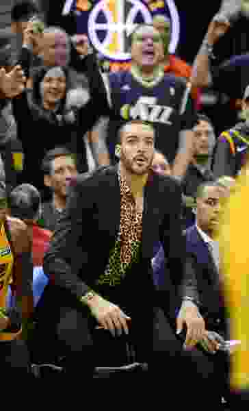 Halfway through the season, the Jazz have struggled without 'anchor' Rudy Gobert