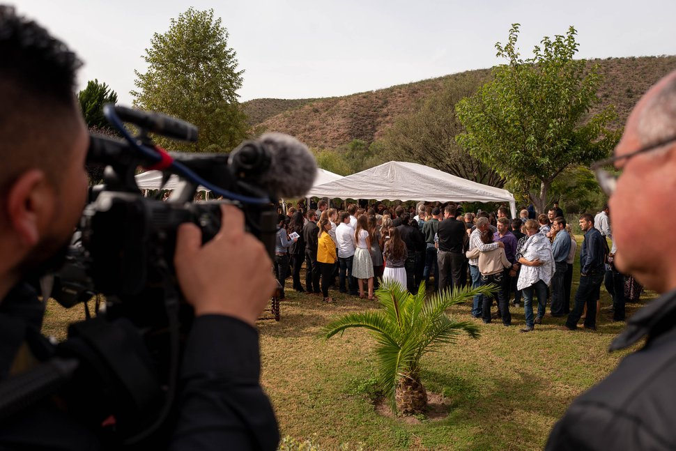 (Trent Nelson | Tribune file photo) The funeral for Dawna Langford and two of her children, Trevor and Rogan, in La Mora, Sonora, on Thursday, Nov. 7, 2019.